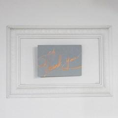 Thankyou Calligraphy Card