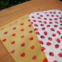 딸기 & 하트 페이퍼 봉투 set - 2type