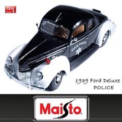 1:18 스페셜 1939 포드 디럭스 - 폴리스/Ford