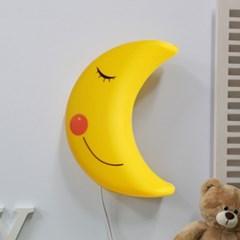 [LAMPDA] LED형 스마일 달모양 벽등