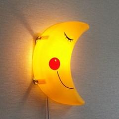 [LAMPDA] 스마일 달모양 벽등