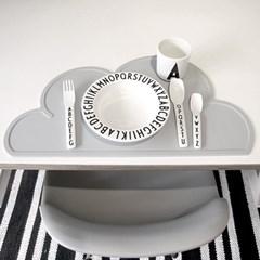 Cloud Table Mat - Grey (구름매트 그레이)