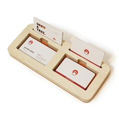 팝업과 수납을 동시에 하는 명함트레이B-Card Tray B