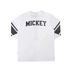 MICKEY 1 FOOTBALL TEES (WHITE)