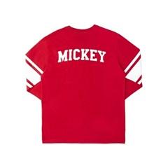 MICKEY 1 FOOTBALL TEES (RED)