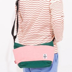 Collect Shoulder II Sweat Nylon - H.Coral/Ivy
