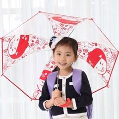 뿌까 아동 투명우산 53 고급형/단체선물/아동 장우산/비닐우산