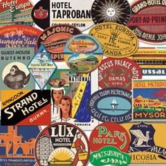 스타일리시한 테마별 빈티지 스티커 - LB-11806 Exotic Destinations