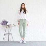 Fresh basic slim pants