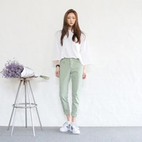 Fresh basic slim pants