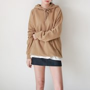 Daily warm loose fit hood