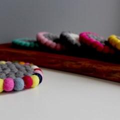 라인 펠트볼티코스터 -6colors
