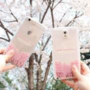 체리블로썸 벚꽃나무 투명 젤리케이스 [아이폰]