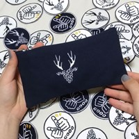 Initials deer pen case