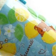 리락쿠마 레몬 일러스트 물병파우치