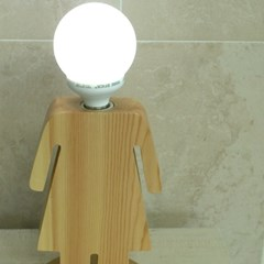 [LAMPDA] W피플 원목 스탠드