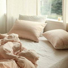 Bedding set (cotton) - 01 Botanic garden Q(퀸)
