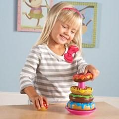 똑똑한 쿠키)도너츠 쌓기/LER7352/도넛모형/음식모형