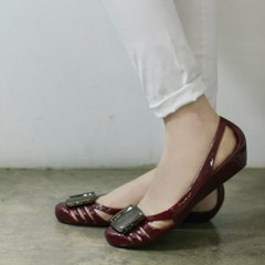 3cm wedge  pendent  jelly sandals_KM15s17