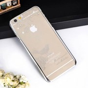 [PAU]큐빅 메탈 컬러라인 케이스(아이폰6/4.7형)