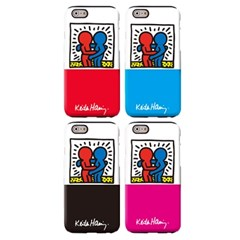 SKINU x Keith Haring 범퍼케이스 - Hug