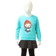아동 꼬깔소녀 맨투맨티셔츠 S5SKMT002RH