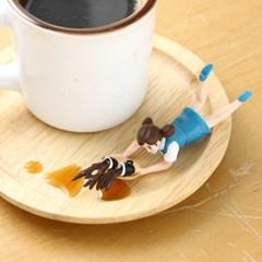 컵 위의 후치코 Blue 4 (랜덤)