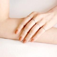 [하우즈쉬나우] natural daily 92.5 silver ring (일반링&너클링)