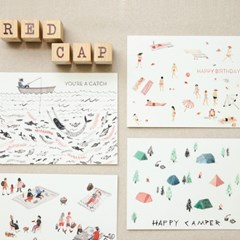 [Red Cap Cards] You're a Catch