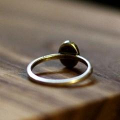RS-125 타원 황동이니셜 반지(Brass Initial Ring)