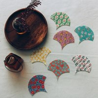 NSCR/ 1마/ 코튼] #12 Ginkgo Leaf Patch Cotton_베베네 빈티지