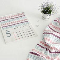 NSCR/ 1마/ 5월달력] Stamp Twinkle Diamond pattern cotton