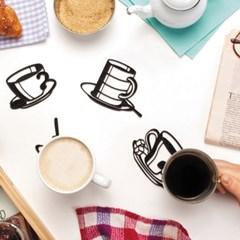 벨렉 디자인(Peleg Design) 실리콘 스케치 컵받침