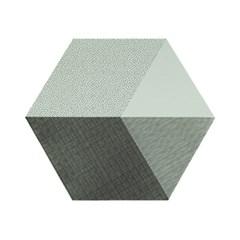 Polygon Placemat (실리콘재질 폴리곤 테이블매트) - Mint