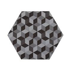 Polygon Placemat (실리콘재질 폴리곤 테이블매트) - Graphite