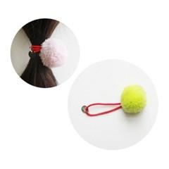 PomPom hairband(L) 3pcs