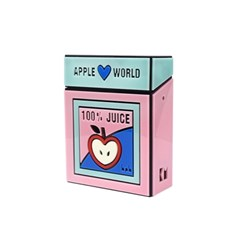bpb apple juice acrylic shoulder bag