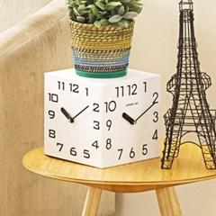 트리오클락 화이트삼면시계로 집들이 선물추천아이템