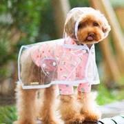 Ailuspet 애견 레인 코트 Pet rain coat