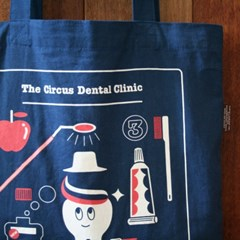 CBB cotton bag M 03 Dental clinic