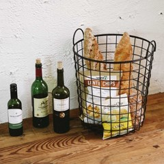 Wire round basket - 02 L