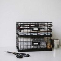 Vintage basket : half