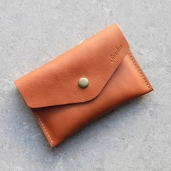 Leather Simple Wallet_소가죽 미니지갑 카드&지폐수납