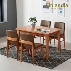 핀란디아 오스턴 4인식탁세트(의자4)