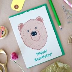 HAPPY BEARTHDAY CARD