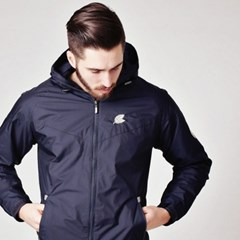 Leaf12 wind breaker NAVY