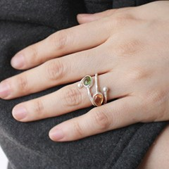 [only one]9타입 투어말린 반지 9types tourmaline ring