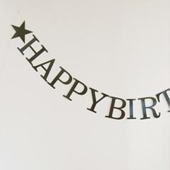 레터링가랜드 Happy birthday(3color)