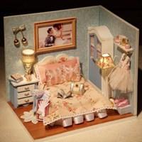 [adico] DIY미니어처 하우스 - 카멜라의 침실_(382145)