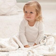 머슬린 드림블랭킷 겉싸개 아기낮잠이불 - 나이트스카이